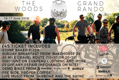 bikepacking event new forest